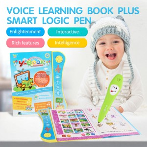 English reading learning book machine (with pen) YS2605C