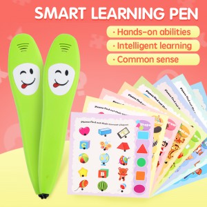 English Early Learning Smart Logic Learning Pen (12 cards included) YS2607A