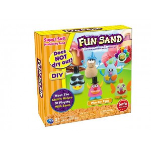 For the children design wacky egg does not dry out fun sand toy NO.JZ8808