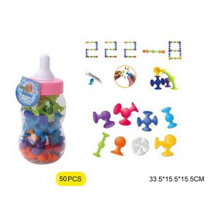 Children educational soft rubber intelligent puzzle suction ball toys No.:222-8