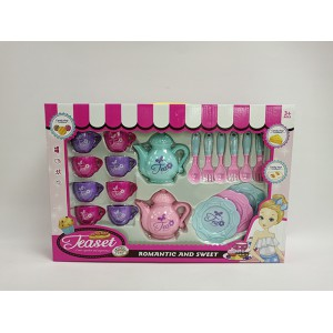 For girl design fantastic afternoon teaset fashion toy No.:JH313-3