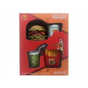 High quanlity food set hambuger with french fries funny toy set  No.:DN884M-1