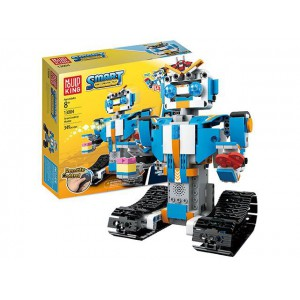 Smart Robert 359pcs of Smart robot with remote control building blocks kid toys No.:13004
