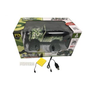 1:12 RC remote control cars one key open door included battery camouflage Wrangler  FD112A