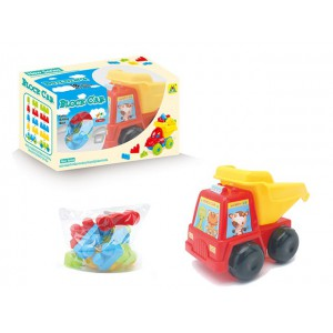 Educational kids building block car creative toys No.:HG-843