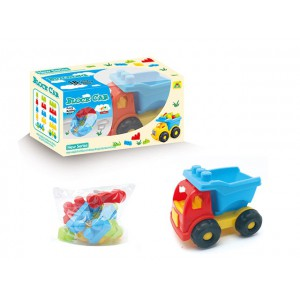 Hot sell building block car children development of intelligence toys No.:HG-839
