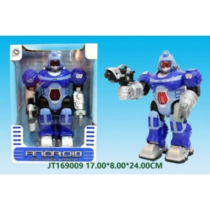 Funny B/O Fighting Warrior Robot NO.JT169009