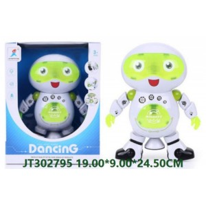 B/O 360° Dancing Robot With Music and Light JT302795