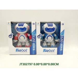 Cute Shape B/O Robot with Story Mode JT302797