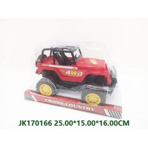 Platform Cover Military Friction Car NO.JK170166