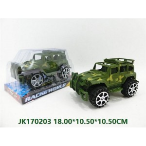 Camouflage Friction Car Toy NO.JK170203