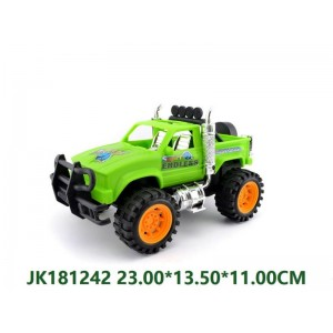 Cheap Friction Crossing Car Toy NO.JK181242