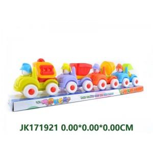 Pull Back Cartoon Contruction Car For Kids NO.JK171921