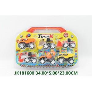 Funny 6PCS Pull Back Car Set NO.JK181600