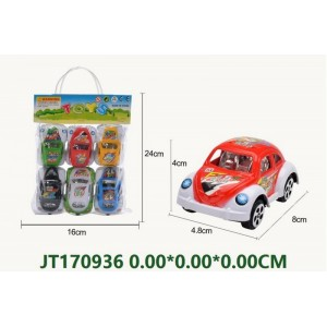 Small Size Cartoon Pull Back Racing Car NO.JT170936