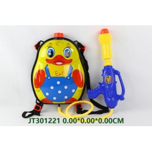 Water Pistol With Lovely Duck Backpack NO.JT301221