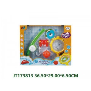 Cartoon Fishing Set Bath Toys NO.JT173813