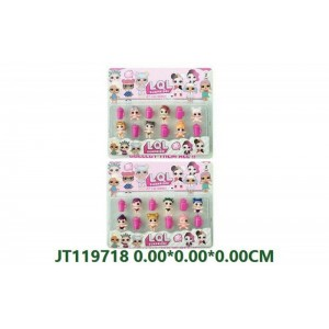 Cartoon Shape Mini Doll Set For Girls NO.JT119718