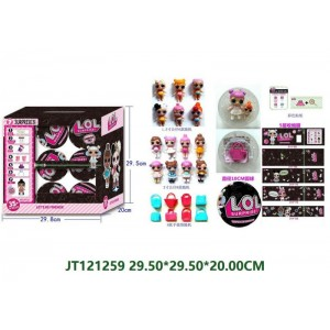 10CM Special Version Kids Beauty Doll Play Set NO.JT121259