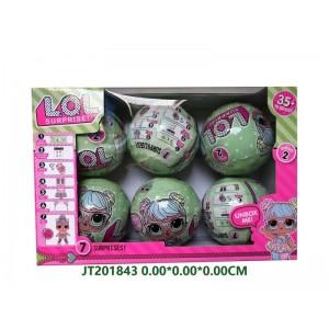 Amazing Ball Shape Doll Series Toys NO.JT201843
