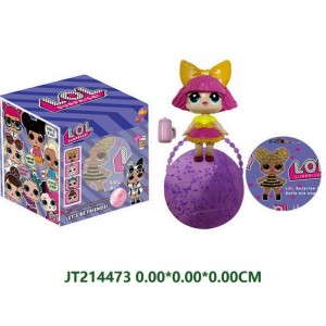 Best Christmas Gift 7CM Lovely Doll Toys Set NO.JT214473