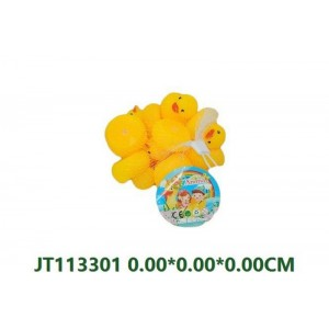 Lovely 8PCS Soft Plastic Ducks Toys NO.JT113297