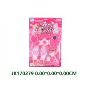 Pink Decoration Set Toys NO.JK170279