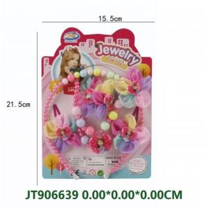 6PCS Beautiful Girls' Hair Decoration Set NO.JT906639