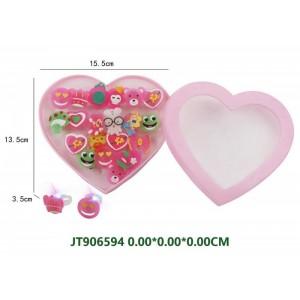 Girls Cartoon Ring Decorations Set NO.JT906594