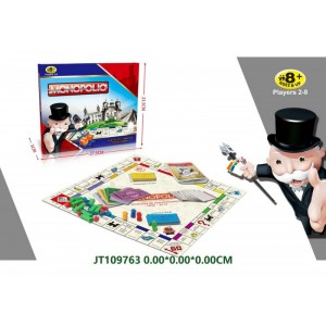 Popular Spainish Version Monopoly Game NO.JT109763