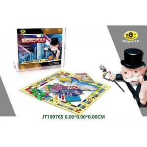 Funnny English Version Monopoly Play Game NO.JT109765
