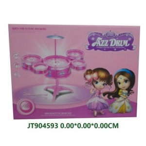 Funny Pink Jazz Drum Toy For Girls NO.JT904593