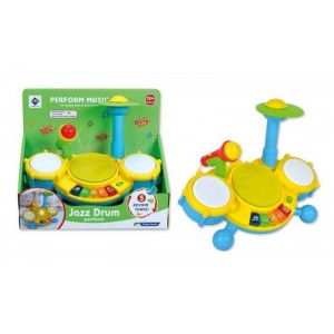 Cartoon B/O Drum Toy With Music NO.JK180544