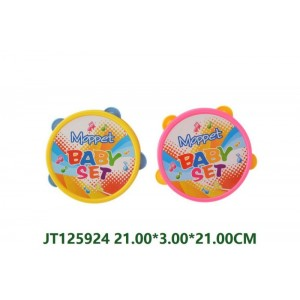 Safe Little Baby Tabourine Toy NO.JT125924