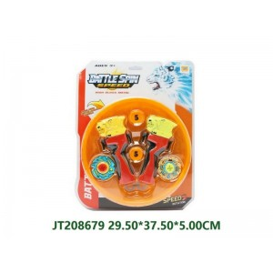 Cheap Novelty Battle Spin Top Toy NO.JT208679