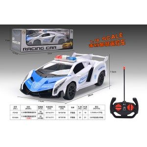1:16 RC remote control cars police car toys No.FD192