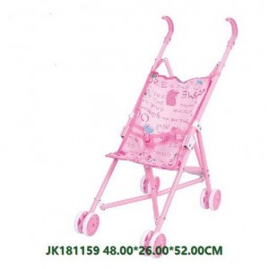 Pink Simulation Baby Trolley Toy NO.JK181159