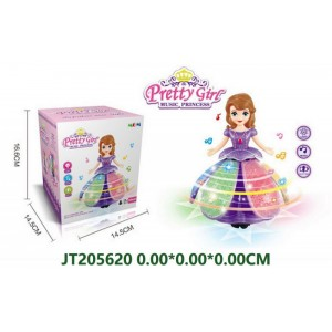 Interesting Battery Operated Princess Toy With Light NO.JT205620