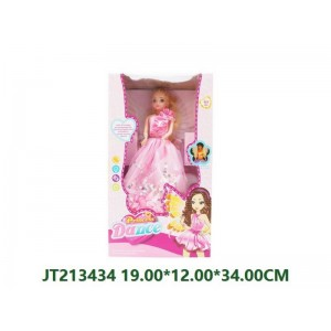 B/O 360° Walking Beauty Girl For Girls NO.JT213434