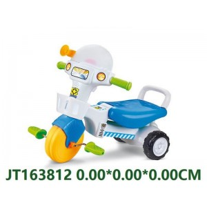 Blue Cartoon Children Tricycle For Boys NO.JT163812