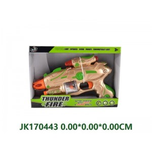 Interesting Electric Gun Toy With Sound NO.JK170443