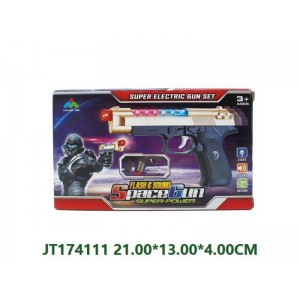 Funny Flashing Electric Gun Toy For Children NO.JT174111