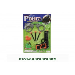 Cheap Police Play Toy Set For Kids NO.JT122946