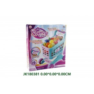 Kids Pretend Play Shopping Cart Toy No.JK180381