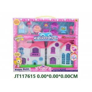 Beautiful Villa Toy With Furniture No.JT117615