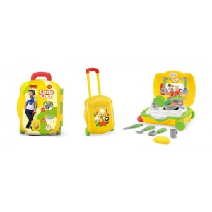 Luggage Case Packed Kitchen Play Set Toy No.JT168851