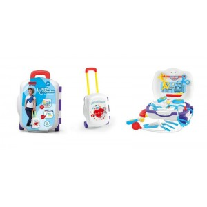Luggage Case Packed Doctor Play Set Toy No.JT168854