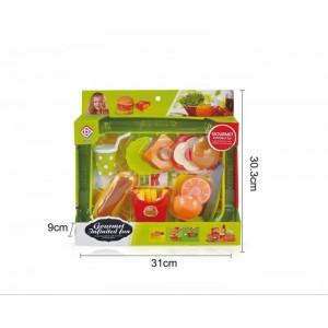 Simulation Hamburger Play Set Toy No.JT171101