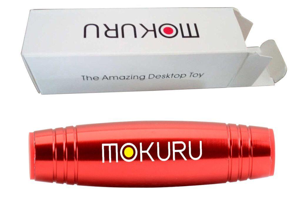 NEW HOT Alloy Metal Mokuru stress reliever Desktop Flip Toys