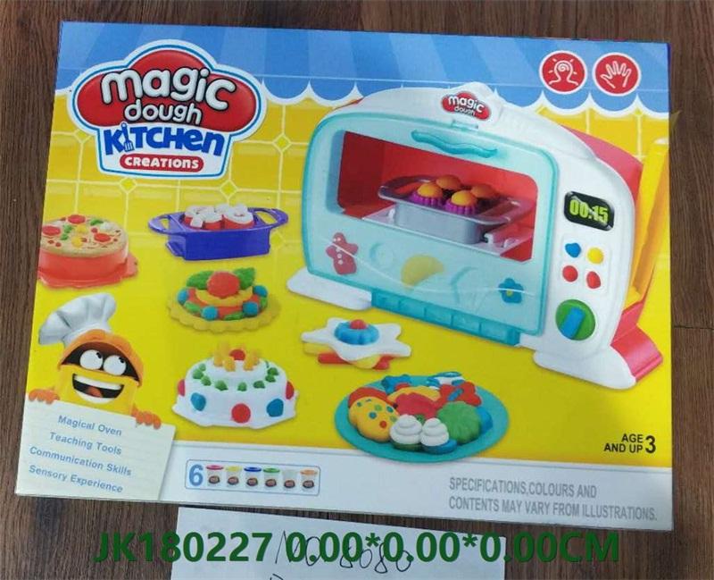 Gas Cooker Color Mud Magic Dough  No.JK180227